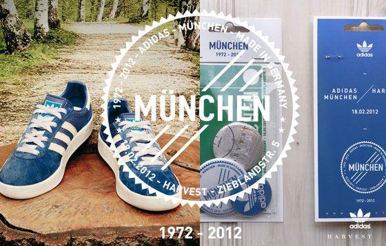 """adidas """"München"""" Release at Harvest Store, Munich"""