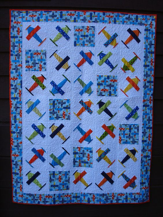 Airplane Quilt Quilt Boys And Airplanes