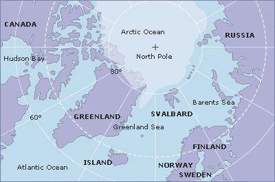 Arctic and Svalbard Map Svalbard Pinterest Archipelago