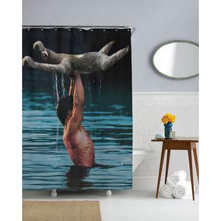 Curtains Ideas best curtain prices : Dirty Dancing Sloth Shower Curtain | Shopping, The o'jays and Products