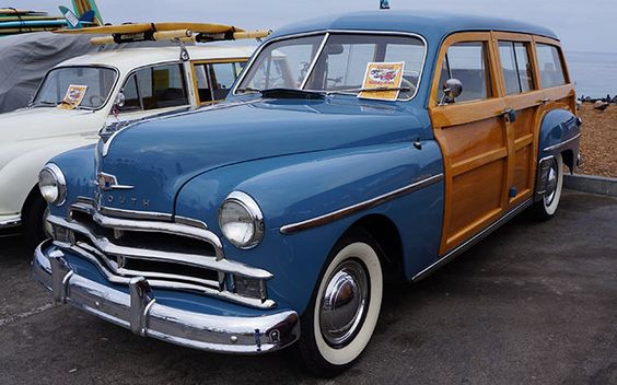 1950 Plymouth Woody