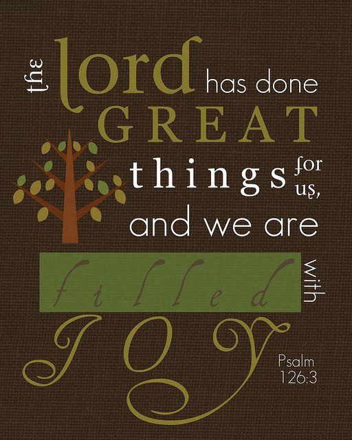 Psalm 126:3