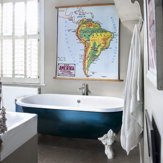 Bold eklektische Bad Wohnideen Badezimmer Living Ideas Bathroom