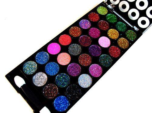 Glitter eyeshadow, Makeup kit and Eyeshadow on Pinterest