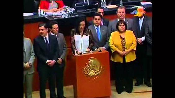 Sen. Mariana Gómez del Campo sobre la situación política que se vive en Venezuela. ¡México se solidariza con la lucha de Venezuela contra el castro comunismo chavista usurpador y apátrida.