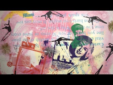 Kenny Scharf: Schow / Fredric Snitzer Gallery, Miami | VernissageTV Art TV