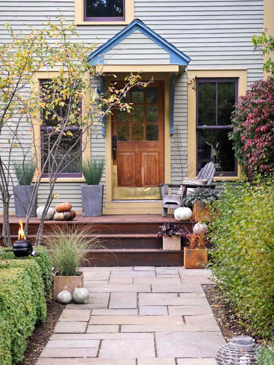 Walkways curb appeal and a month on pinterest - Front door walkways and paths ...