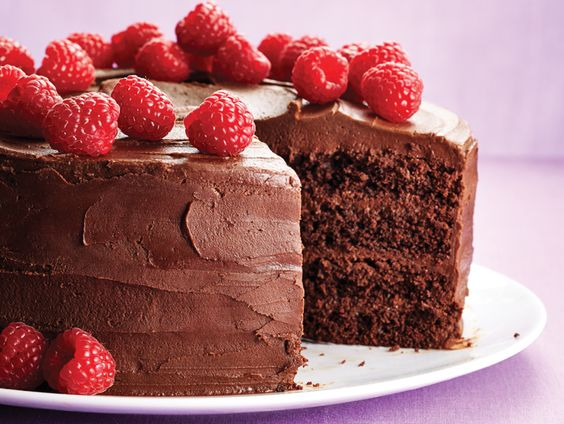 chocolate layer cake with mocha frosting recipe