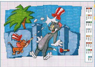 Charms en point de croisement: Tom et Jerry à Point Cruz