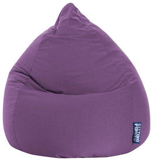 Magma-Heimtex Easy - Puf (tamaño XL, 220 l), color morado