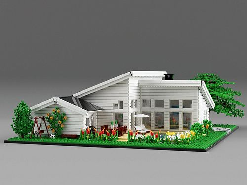 A Well Planned House For A Big Lego Family Big Lego Lego House Family House