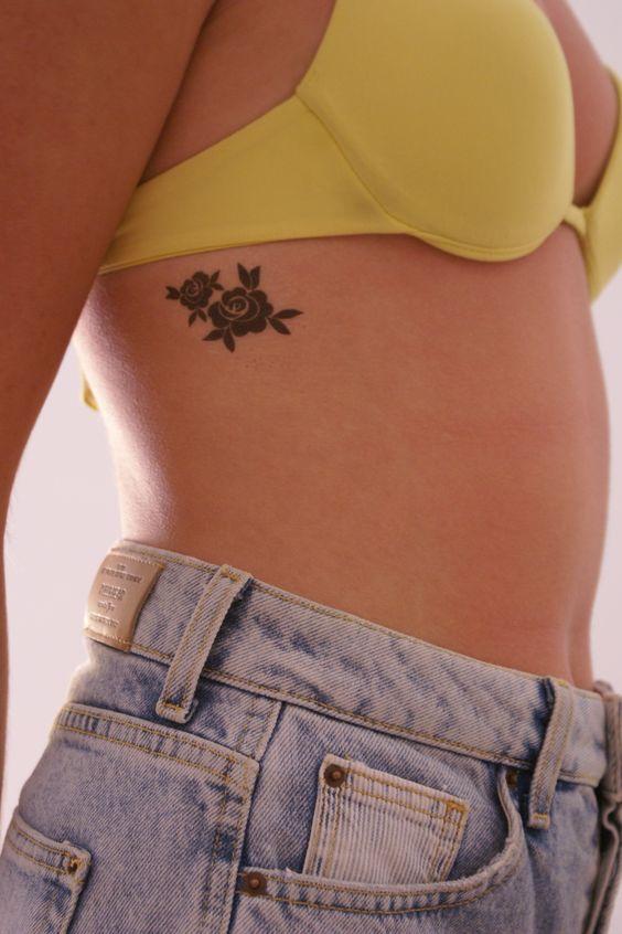lovely little tattoo   Rose