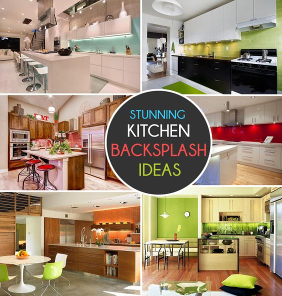 Popular kitchen backsplash and colors on pinterest for Most popular backsplash