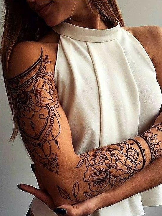 Tattoos Mandala Sleeve Tattoos For Women Feminine Tattoo Sleeves Tattoos