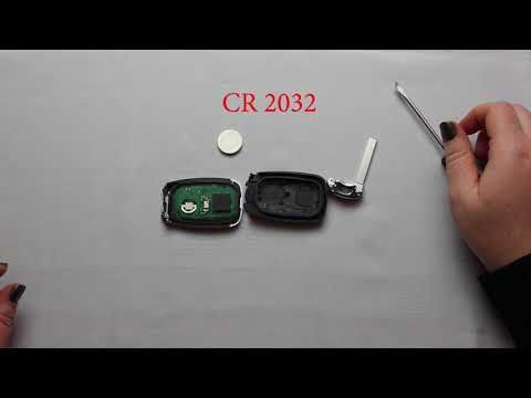 How To Replace The Battery In A 2016 2018 Chevy Camaro Key Fob
