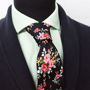 Close-up on the Primrose tie  @grandfrank_official