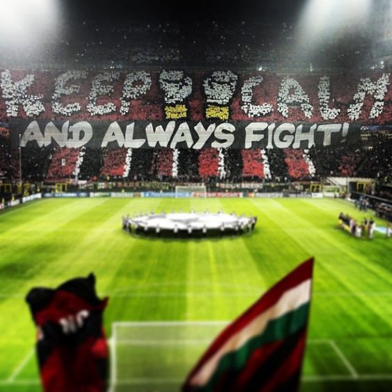 Image result for photos of ac milan ultras choreography