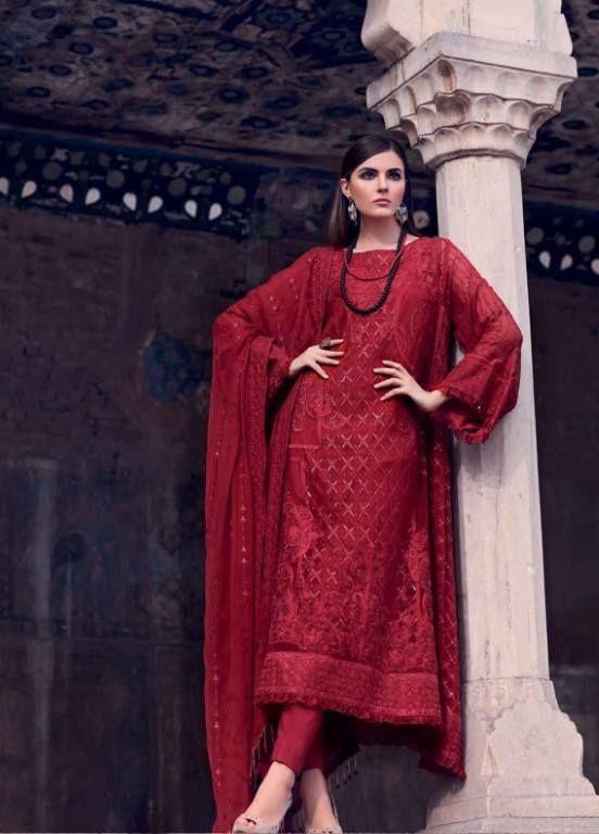 New Gul Ahmed Premium Lawn 2019 2020 Fashion Party Wear Dresses Pakistani Dresses