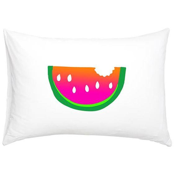 Tea Pea - White Fox & Co Watermelon Pillowslip