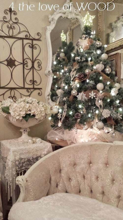 Shabby Chic CHRISTMAS DECOR 2014