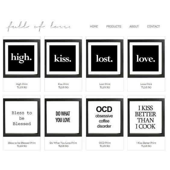 Shop the look - link in the bio ☝️ For more details, contact us!  fullofloveofficial@gmail.com  www.fullofloveofficial.com  #home #decoration #wall #wallart #fulloflove #fullofloveofficial #frame #cerceve #art #typography #çerçeve #hediye #gift #love #shop #shoping #alışveriş #truth #life #quote #tasarım #tipografik #motivaonalquote #positivity #instalove