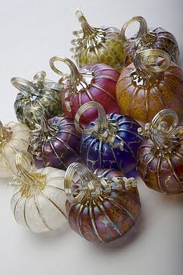 c glassworks pumpkins: