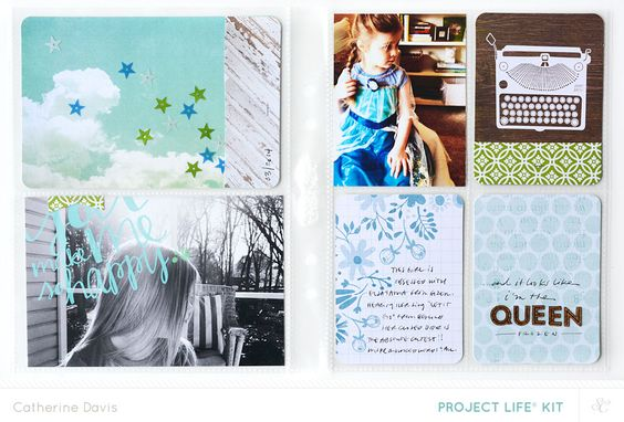 April Project Life | The Queen by Catherine Davis at @Studio_Calico