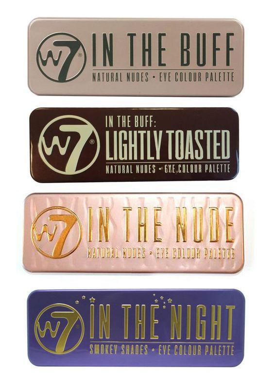 W7 (W7 In The Buff+ Nude+ Night+ Lightly Toasted): Amazon.de: Drogerie & Körperpflege