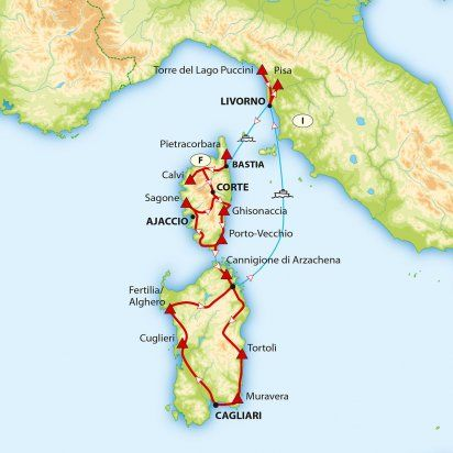 Torre Del Lago Puccini Pisa In 2020 Sardinien Reisen Korsika