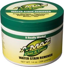 Green Cleaning: The best hard water stain remover, for chrome finishes, stainless sinks, etc .