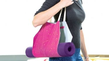 Learn how to sew this handy yoga mat bag with Ashley Nickels. The sewing pattern for this bag is available for download in the class PDF. - Creativebug