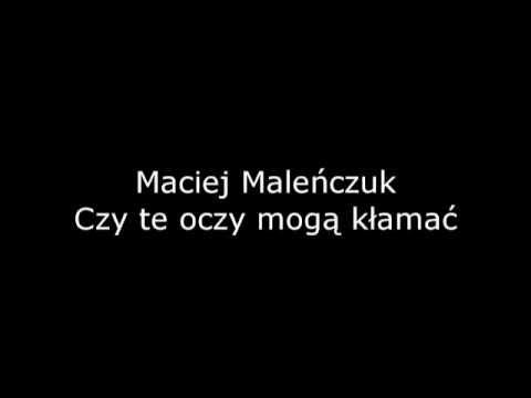 Maciej Malenczuk Czy Te Oczy Moga Klamac Youtube Frank Sinatra Sinatra Moga