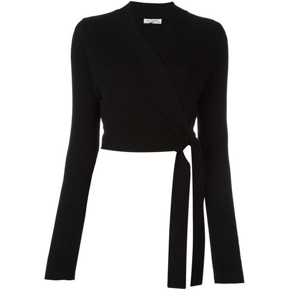 Equipment cropped cache-coeur (2,850 CNY) ❤ liked on Polyvore featuring tops, black, equipment tops, cut-out crop tops, cashmere tops and crop top