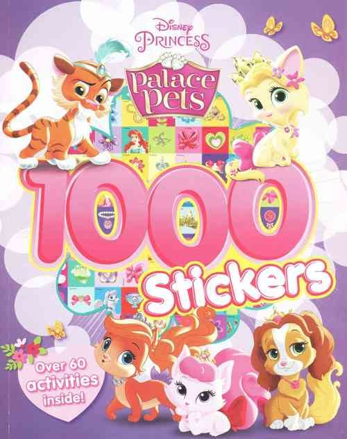 Disney Princess Palace Pets 1000 Stickers Palace Pets Princess