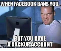 Facebook Ban Meme Google Search Jokes Pics Facebook Jail Social Media Humor