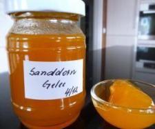Rezept Sanddorn - Gelee von Pudeline - Rezept der Kategorie Saucen/Dips/Brotaufstriche