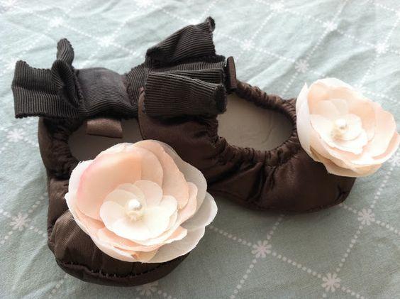 DIY // Baby Ballet Flats
