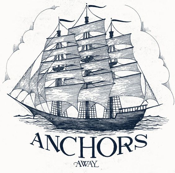 Anchors Away by Drew Melton