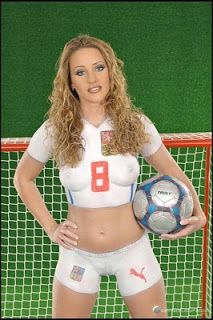 Soccer Woman Body And Women Body Paintings On Pinterest