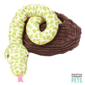 Martha Stewart Snake in a Basket Dog Toy - PetSmart
