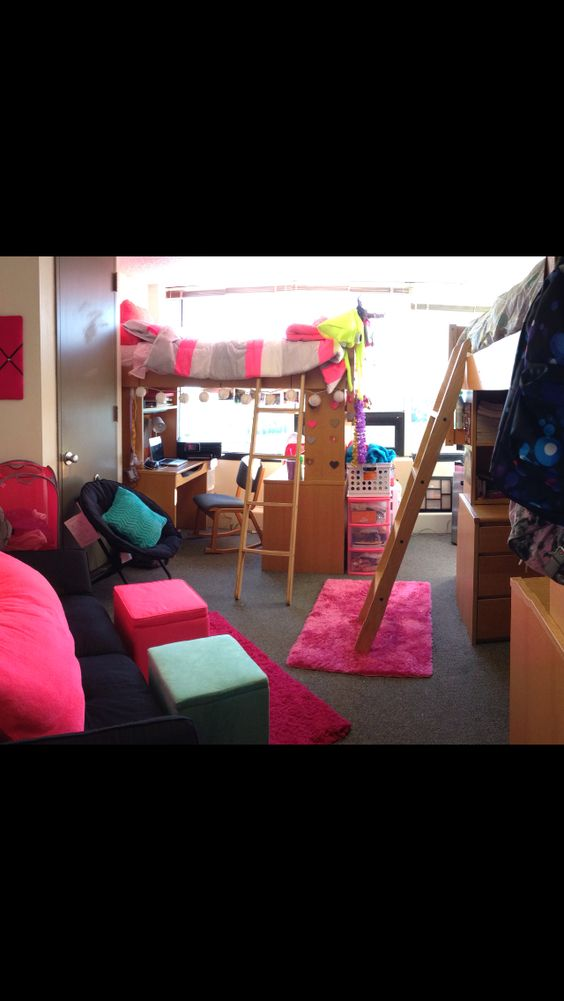 Dorm, College dorms and Colleges on Pinterest ~ 211154_Dorm Room Girly Ideas
