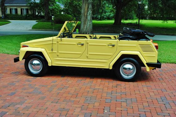 VW Thing. I will own one of these someday.