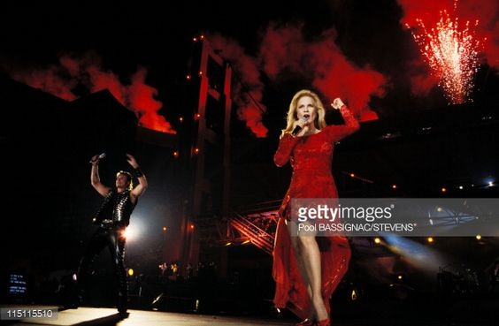 Photo d'actualité : Johnny Hallyday's concert at the 'Parc des...