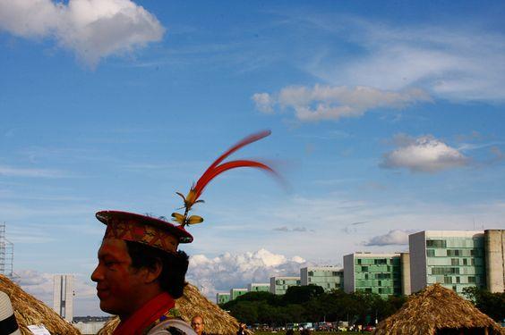 Cortejo Pontos de Cultura do Brasil na Esplanada dos Ministérios - 15 novembro 2008 (Foto TTCATALÃO)