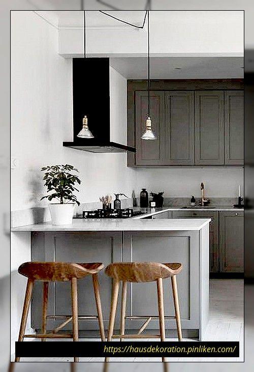 42 Attraktive Kleine Kuchenideen Fur Den Grossen Geschmack Kitchen Decor Inspiration Modern Kitchen Remodel Modern Kitchen