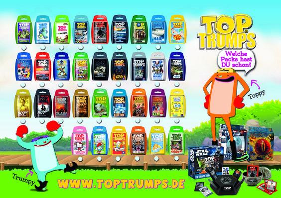 Unser CEO liebt TOP TRUMPS! #toptrumps