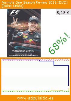 Formula One Season Review 2012 [DVD] [Reino Unido] (DVD). Baja 68%! Precio actual 5,18 €, el precio anterior fue de 16,27 €. http://www.adquisitio.es/metrodome-distribution/formula-one-season-review-0