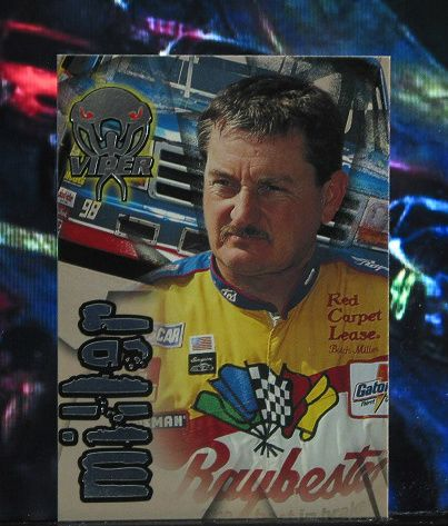 http://nascarniche.blogspot.com/  Butch Miller Truck Series 1996 Wheels Viper Trading Card #67 Base Set Nascar