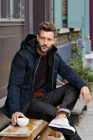 Premium Compact Nylon Jacket from the Next UK | Men's Fashion