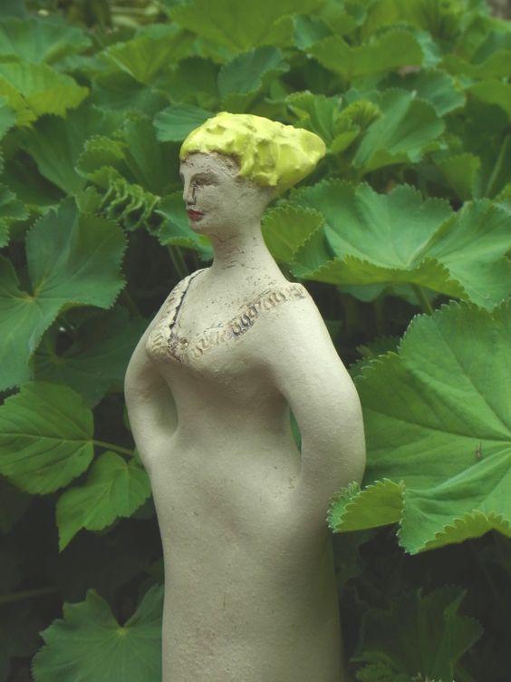 Frostfeste Gartenfigur  Garten Keramik